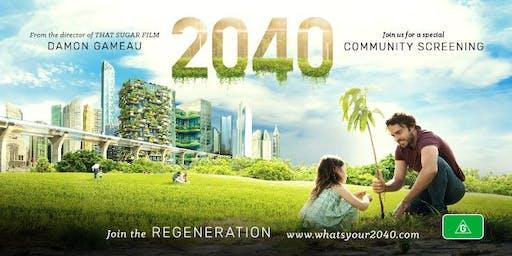2040 Screening at Bawley Point/Kioloa ANU