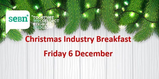SEBN Christmas Industry breakfast - The Greatest Myth: Culture Eats Strategy for Breakfast - Fri 6 Dec