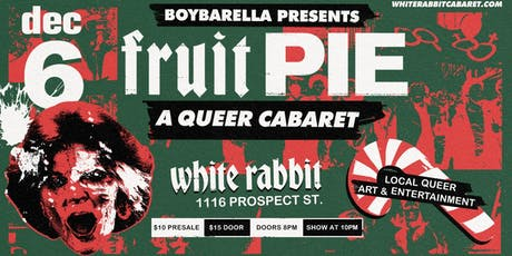 Fruit Pie: A Queer Cabaret tickets