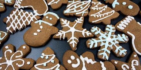 Spanish Baking Class - Galletas de jengibre (Gingerbread cookies) tickets