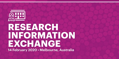 OCLC Research Information Exchange 2020 – Melbourne, Australia tickets