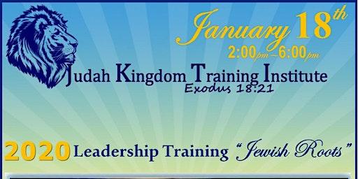 JKTI Jewish Roots - Leadership Conference