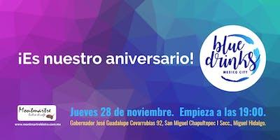 Blue Drinks CDMX 28.11.19 - Estamos Celebrando