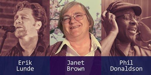 Janet Brown Benefit Concert
