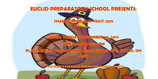 Euclid Preparatory Thanksgiving Dinner 2019