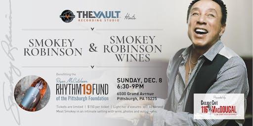 Smokey Robinson at The Vault Recording Studio