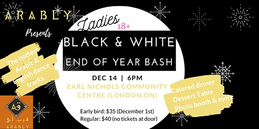 Ladies Black & White End of Year Bash