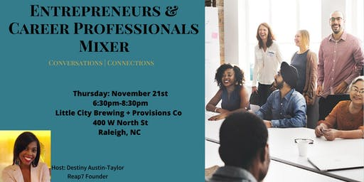 Entrepreneurs & Career Professionals Mixer