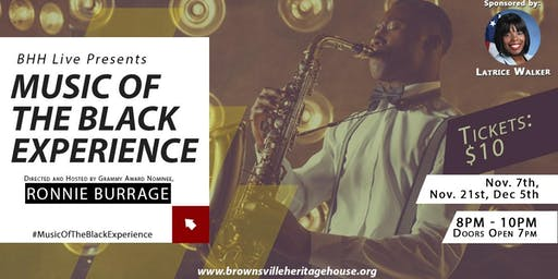Music Of The Black Experience