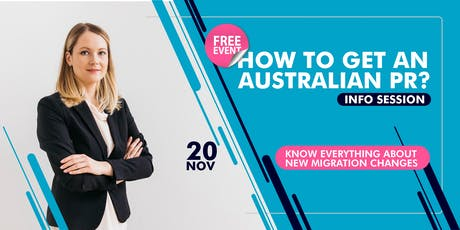 Australian Permanent Residency Information Session tickets