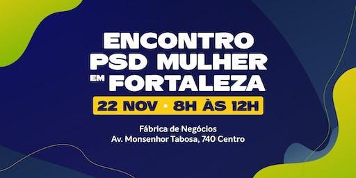 Encontro do PSD Mulher em Fortaleza.