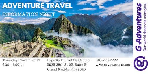 Adventure Travel Information Night