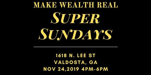 Make Wealth Real: Wealth Shifting Sunday