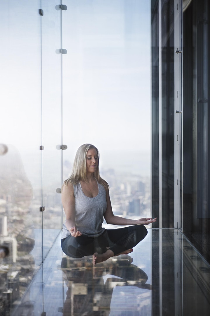 Sunset Meditation at the Chicago Skydeck - Willis Tower image
