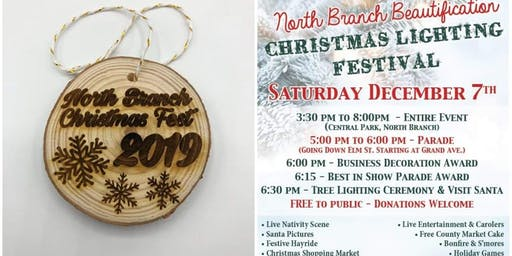 North Branch Christmas Festival & illuminated Parade - BUY ORNAMENTS HERE!