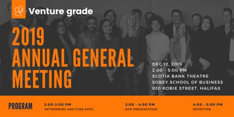 Venture Grade Annual General Meeting (AGM) tickets