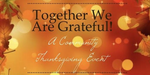 Community Thanksgiving Celebration