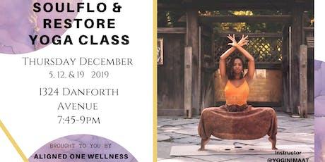 SoulFlo & Restore Yoga Class tickets