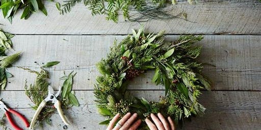 Christmas Wreath Workshop at Carters Terrace