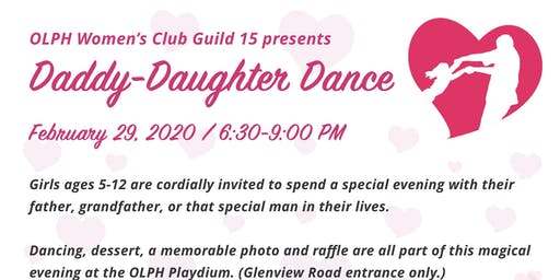 Daddy-Daughter Dance 2020
