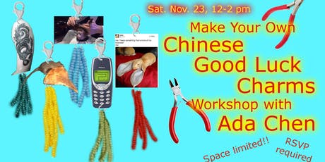 WOW x NYCJW Presents: Good Luck Charm Making Workshop w/ Ada Chen tickets