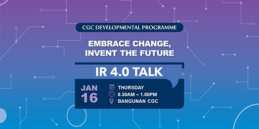 IR 4.0 Talk @ Klang Valley