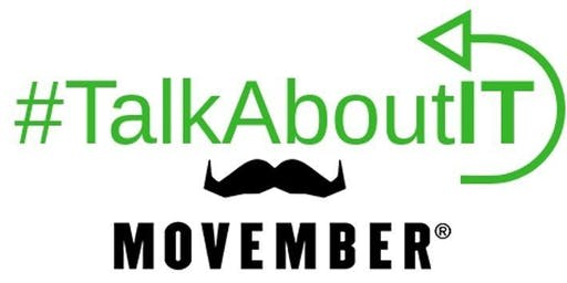 #TalkAboutIT and Movember Lunch - $35/pp