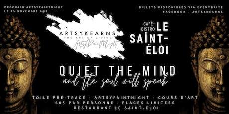 ArtsyPaintNight | Restaurant Le Saint-Éloi billets