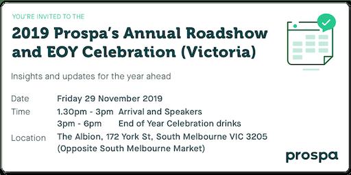 2019 Prospa's Annual Roadshow and EOY Celebration (VIC)