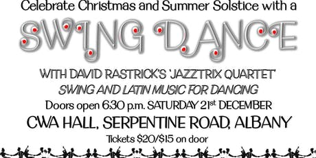 Solstice Swing Dance with Jazztrix Live Music tickets