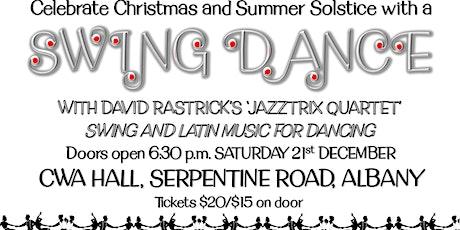 Solstice Swing Dance with Jazztrix Live Music tickets