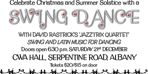 Solstice Swing Dance with Jazztrix Live Music