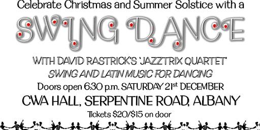 Solstice Swing Dance with Jazztrix Live Music