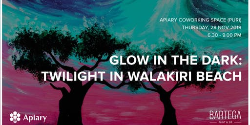 Glow in the Dark: Twilight in Walakiri Beach