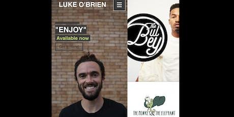 The Monkey & The Elephant Presents: Luke O'Brien  tickets