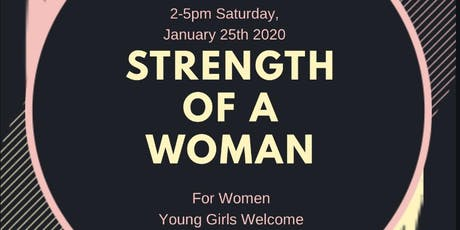 Strength Of A Woman tickets