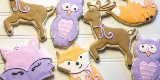 Winter Wonderland Cookie Decorating Class at Fran's Cake and Candy Supplies