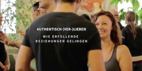 Workshop: Authentisch Lieben - Wie erfüllende Beziehungen gelingen (Köln) Tickets