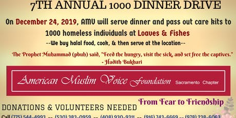 AMV Sacramento's 7th Annual Feed The Homeless Drive tickets