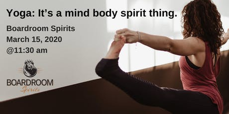 Yoga at the Distillery tickets