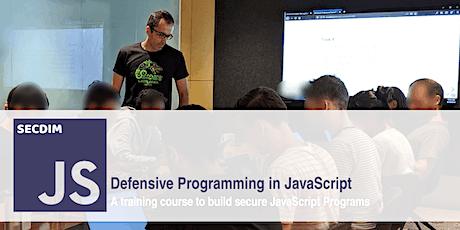 Defensive Programming in JavaScript tickets