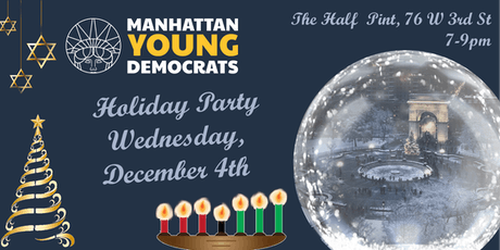 Manhattan Young Democrats 2019 Holiday Party tickets