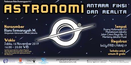 Astronomi: Antara Fiksi dan Realita - Pertemuan Ru tickets