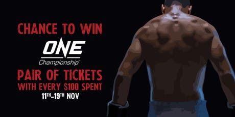 Win FREE ONE Championship Tickets at Heart of Darkness tickets