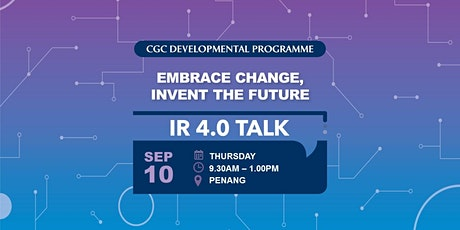 IR 4.0 Talk @ Penang tickets