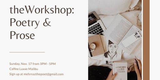 theWorkshop - Poetry & Prose