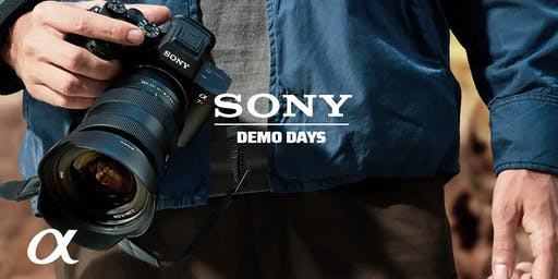 Sony Demo Days, Hunt's Photo, Manchester