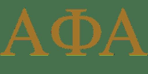 Alpha Phi Alpha - Lake Charles, LA - Founder's Day Celebration 2019