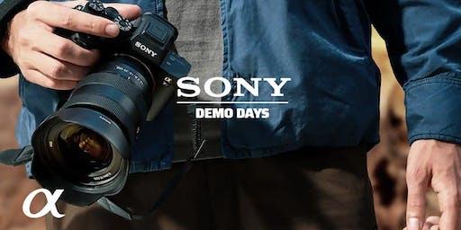 Sony Demo Days, Hunt's Photo, Cambridge