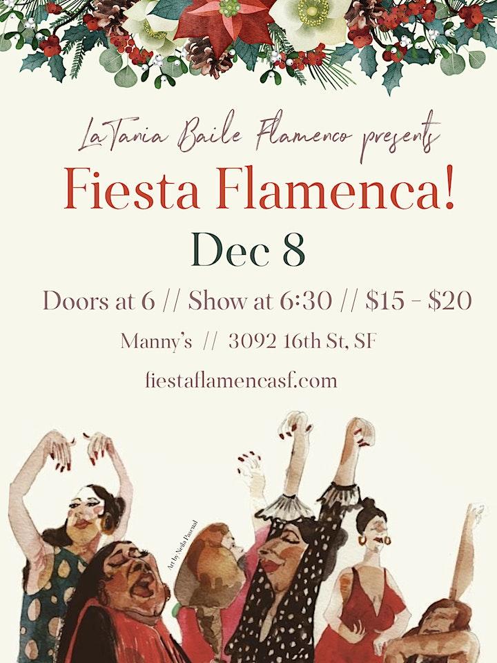 ¡Fiesta Flamenca! at Manny's in San Francisco image